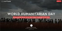 World Humanitarian Day 2015 - click to read our photo story