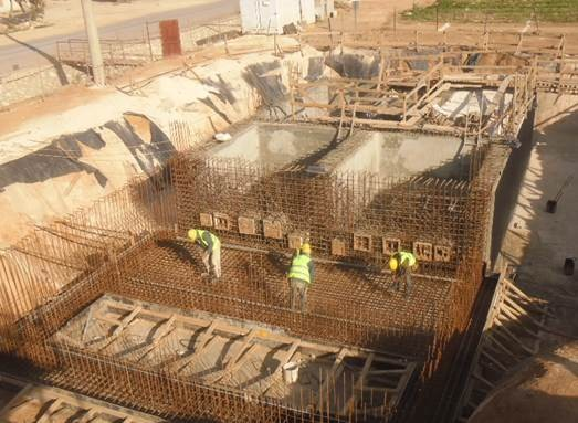 Construction of the Mafraq Wastewater Treatment Plant - 2015