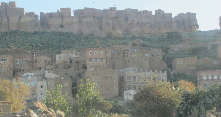 Yemen Sana'a mountains