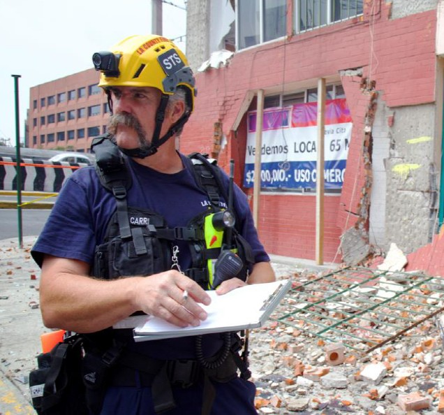 Los Angeles County USAR structural engineers assessed more than 50 buildings—including multi-family residential structures, schools, and health facilities—from September 22–27.