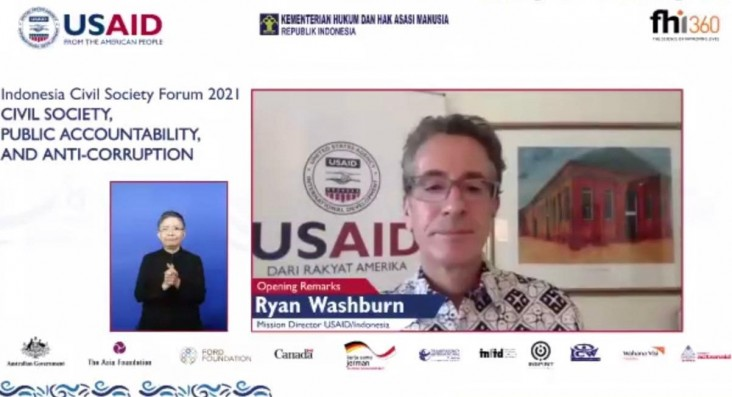 The United States Supports the Empowerment of Civil Society through the Indonesia Civil Society Forum 2021