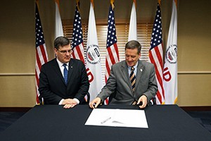 Signing of a Memorandum Of Understanding Between USAID and Knights of Columbus