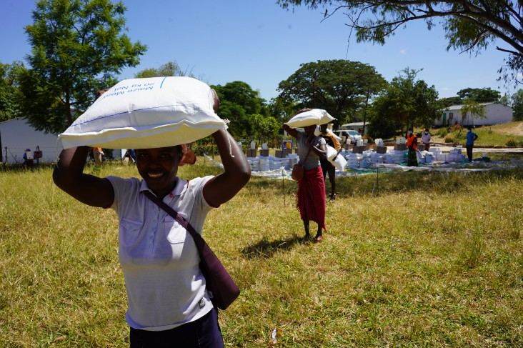The United States is providing $60.55 million to feed nearly one million Zimbabweans in the upcoming lean season.