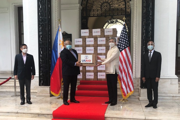 United States Provides 100 Ventilators to the Philippines to Support COVID-19 Response