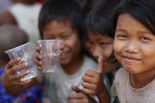In Burma USAID and P&G partner to provide clean drinking water and promote sanitation practices for some of the country's most