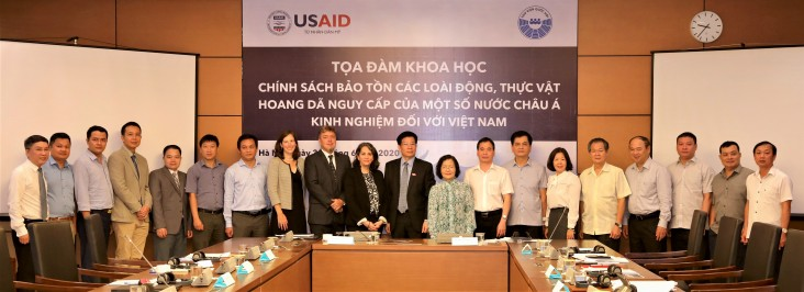USAID and National Assembly of Vietnam Hold Second High-Level Dialogue to Strengthen Counter Wildlife Trafficking Efforts