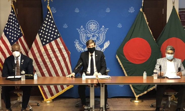 U.S. Ambassador to Bangladesh Earl Miller announces additional U.S. government funding to support Bangladesh's COVID-19 response efforts and post-COVID development and economic recovery