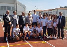 USAID and UNDP Open Sports Field in Lajkovac