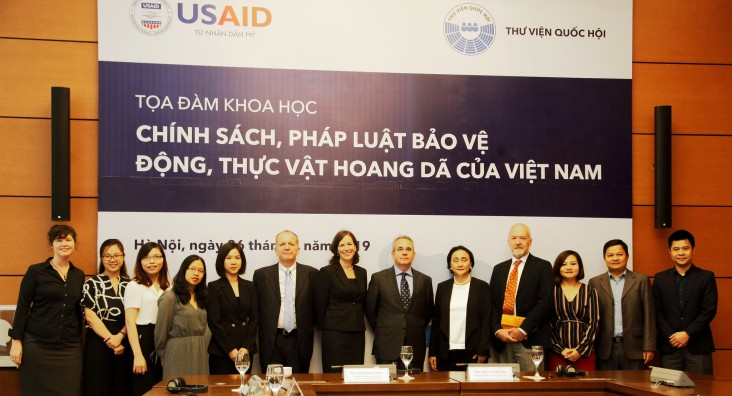 USAID works alongside Vietnam's National Assembly on effective wildlife conservation through demand reduction
