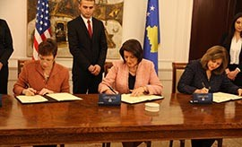 USAID Committed to Support Kosovo's Development