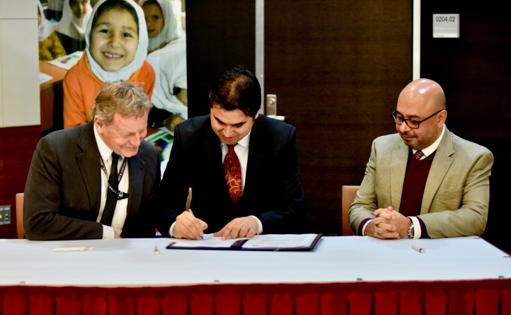 The official launch of Afghan Children Read (ACR) project.
