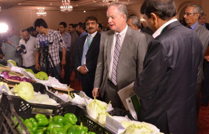 New Mission Director of USAID Mr. John Groarke launched the U.S.–Pakistan Partnership for Agricultural Market Development