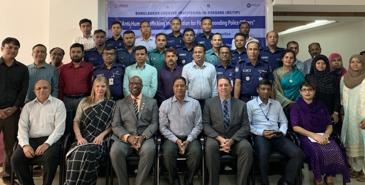 United States Partners with Bangladesh to Support Anti-Human Trafficking Investigation Training for Police Officers