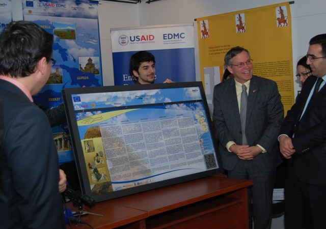 USAID Armenia and partners launch the Black Sea Silk Road Corridor project.