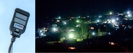 USAID helped install energy-efficient street lighting in remote village of Armenia.