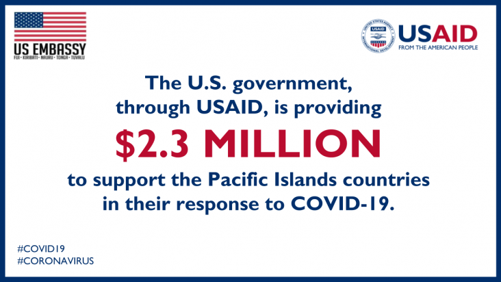 United States Provides Assistance to the Pacific to Respond to COVID-19