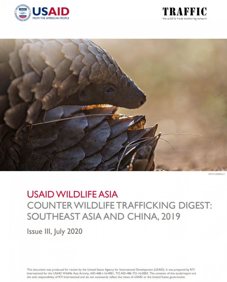 USAID Wildlife Asia Counter Wildlife Trafficking Digest Issue III