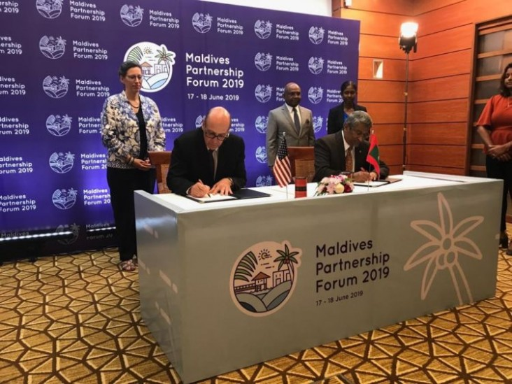 Ambassador Teplitz underscores the ongoing commitment of the United States to strengthening its partnership with Maldives during recent visit