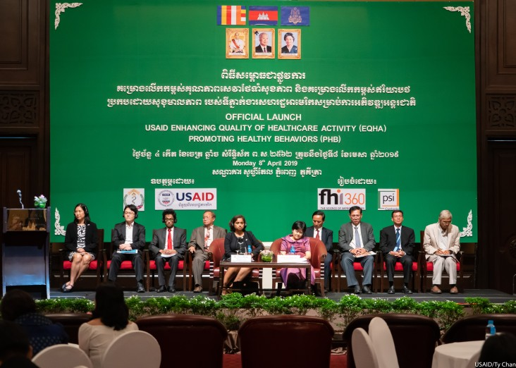 USAID Launches Key Projects for a Healthier Cambodia