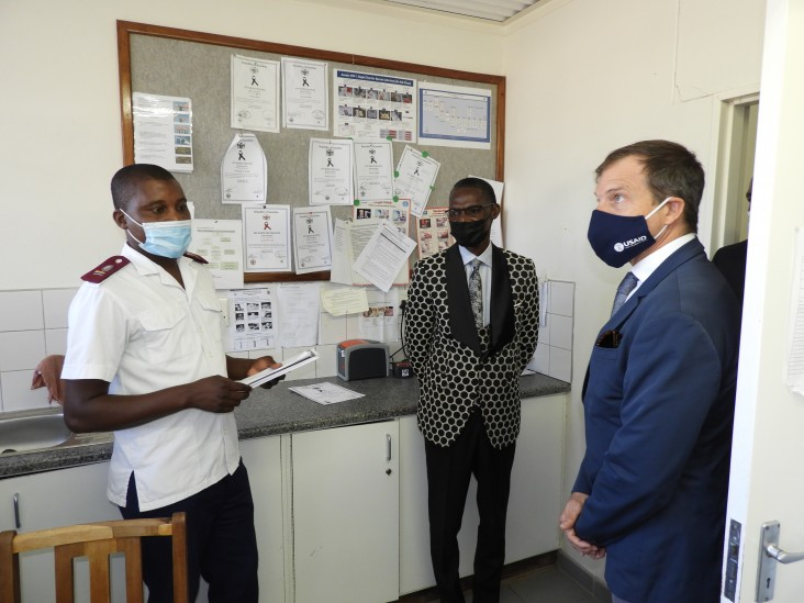 U.S. PEPFAR expands activities for vulnerable children, implemented by Project HOPE Namibia through USAID