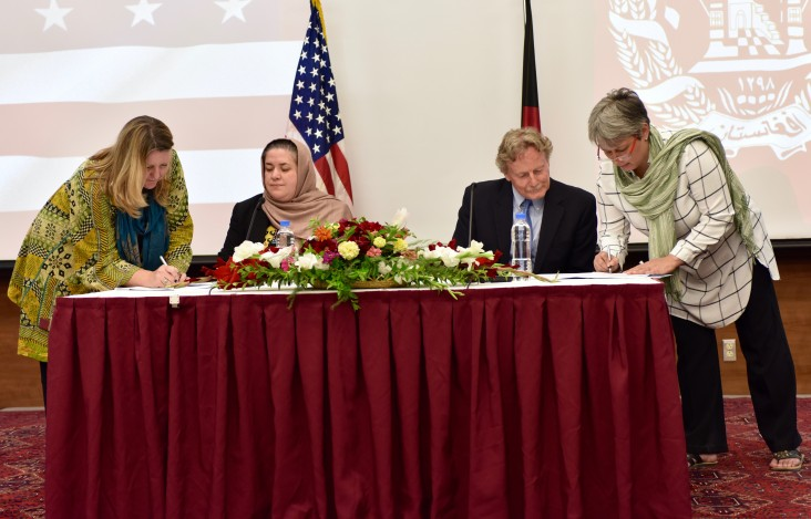 MoLSAMD and USAID-Promote Team up to Offer Afghan Women Internship Opportunities