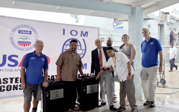 United States donates Reverse Osmosis Machines to the  Marshall Islands to Assist with Drought Relief