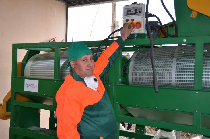 Communities Build Six New Feed Grinding Facilities through USAID-Azerbaijan Collaboration