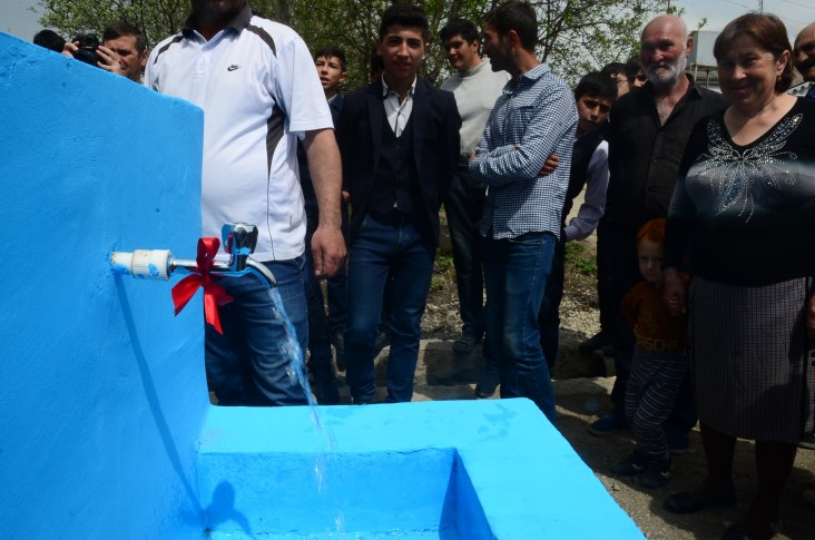 U.S., Azerbaijan Improve Water Supply in Guba District