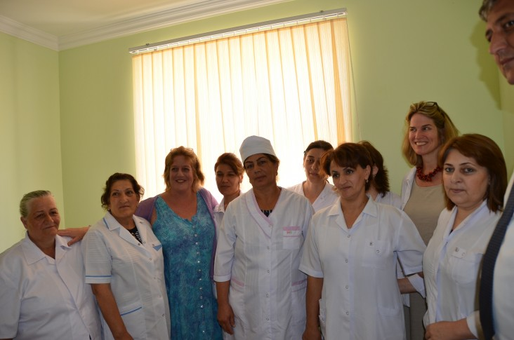 The new facility improves day-to-day access to healthcare for more than 1,500 residents of Shahverdililer.
