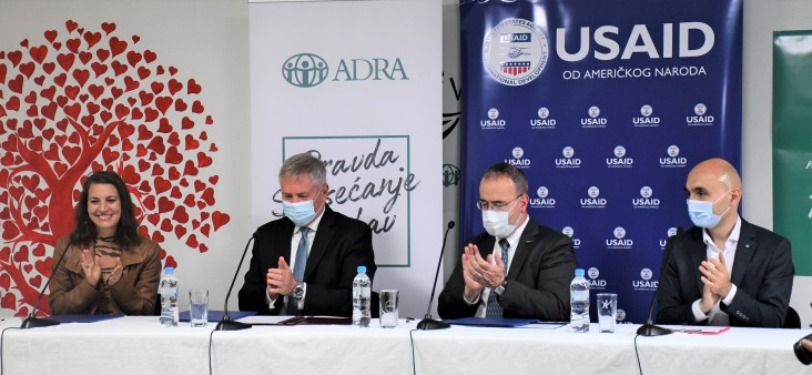 The United States and Slovakia Partner to Help Homeless People Suffering from Ongoing Pandemic
