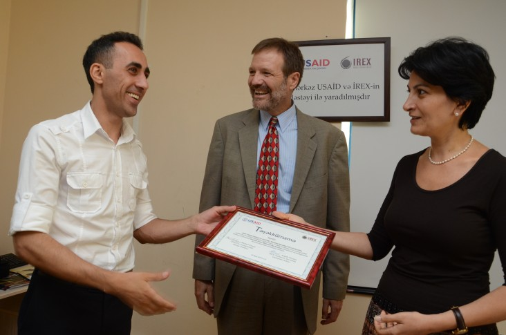 USAID and IREX hand over Community Information Centers