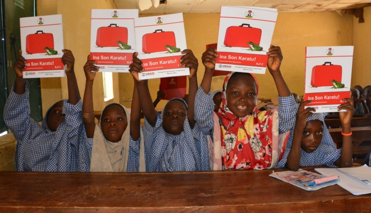 Over three years, the USAID SENSE activity will reach more than 200,000 learners, and train and provide teaching materials to 5,000 teachers to improve reading in the Hausa language in Adamawa and Gombe states