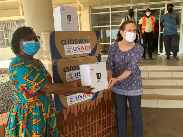 The United States Helps Liberia Ensure the Accuracy of COVID-19 Testing