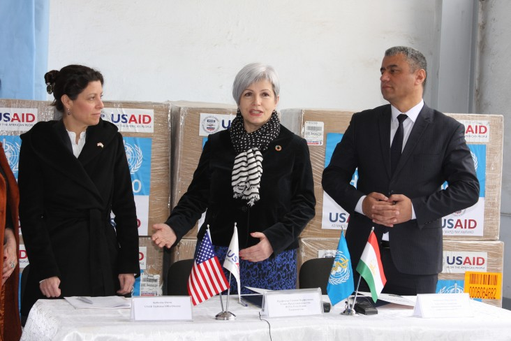 The U.S. Government Provides Personal Protective Equipment and Assistance Funds to Tajikistan in Response to Coronovirus