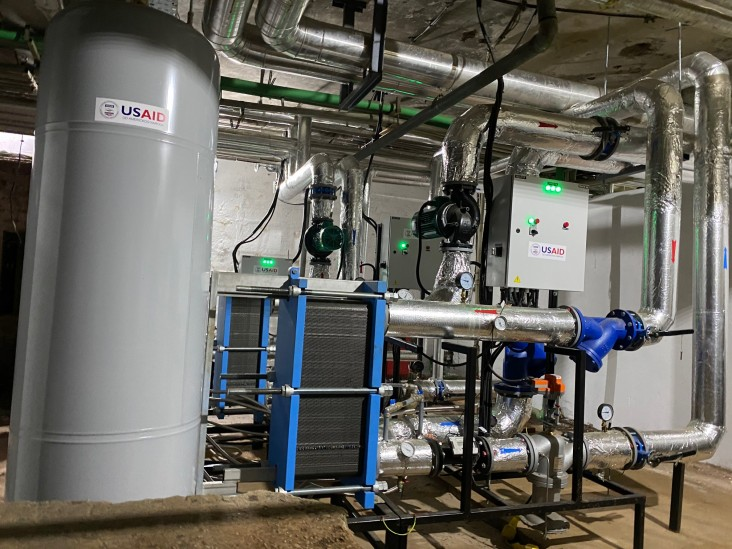 Partnership with USAID Gets Pančevo Covid Hospital Heating and Hot Water Upgrade