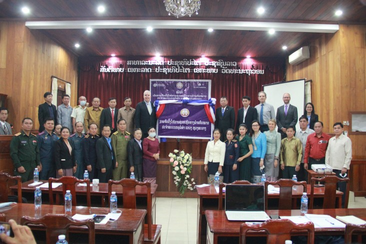 USAID and Ministry of Justice Opened the Luang Prabang Legal Aid Office