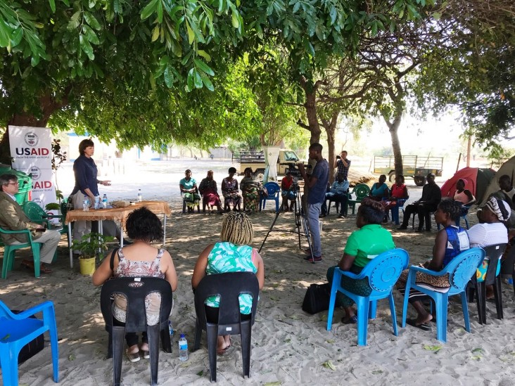 Rural Women Benefit from Public Speaking Workshop under  USAID's Combating Wildlife Crime Program