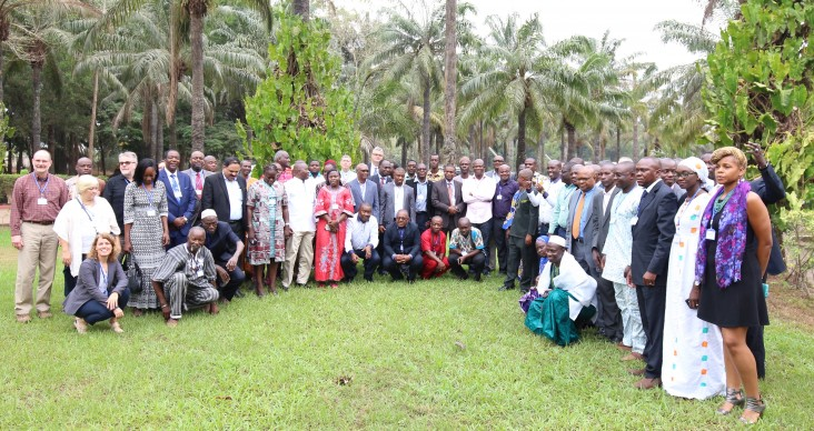 Participants at the Fall Armyworm workshop in Benin
