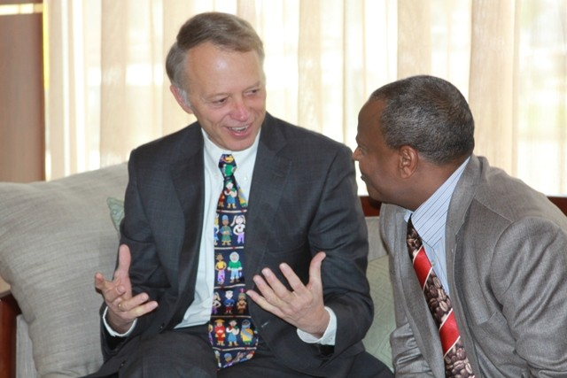 USAID Ethiopia Mission Director Dennis Weller discusses USAID's new Land Administration to Nurture Development (LAND) project.
