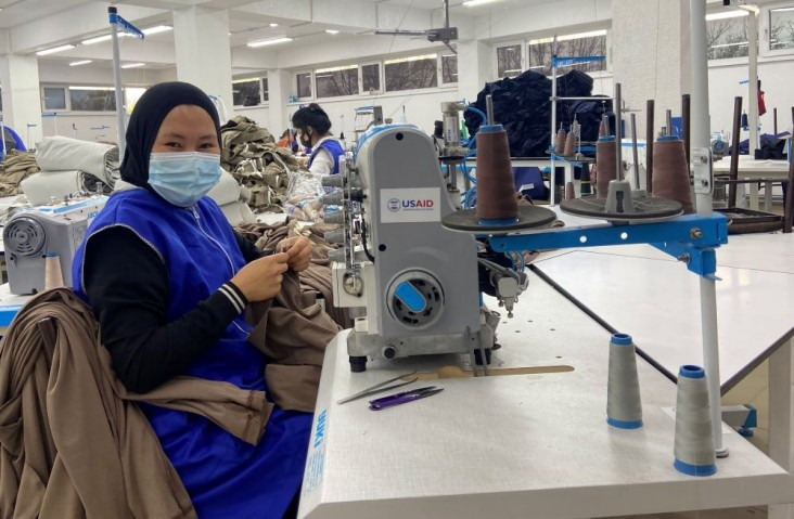 Support from USAID has helped the business to create more than 100 new jobs this year alone.