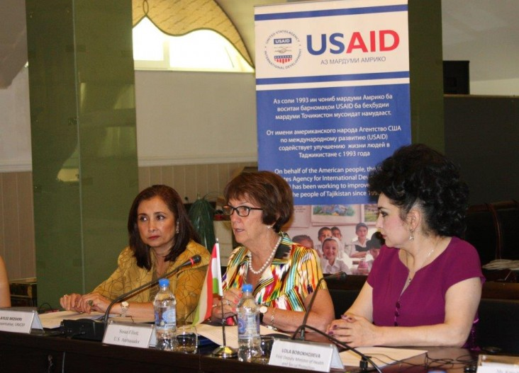 The U.S. Government helps launch the scaling-up nutrition movement in Tajikistan