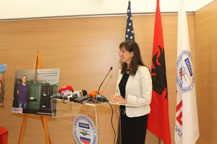 Assistant Administrator of the Bureau of Europe and Eurasia, Paige Alexander