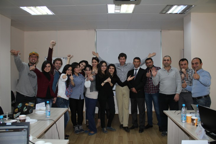 Azerbaijani Journalists Trained in Using Latest Online Media Tools
