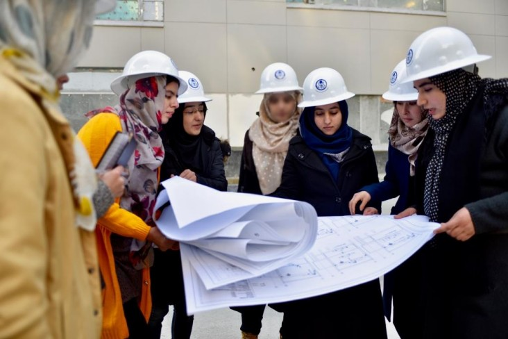 Afghan Engineering and Architecture Interns