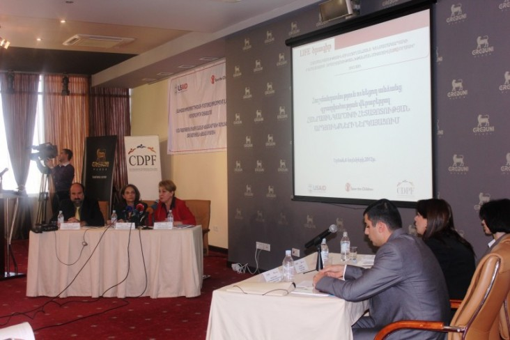 Presentation of the Report on Public Opinion Poll about Persons with Disabilities
