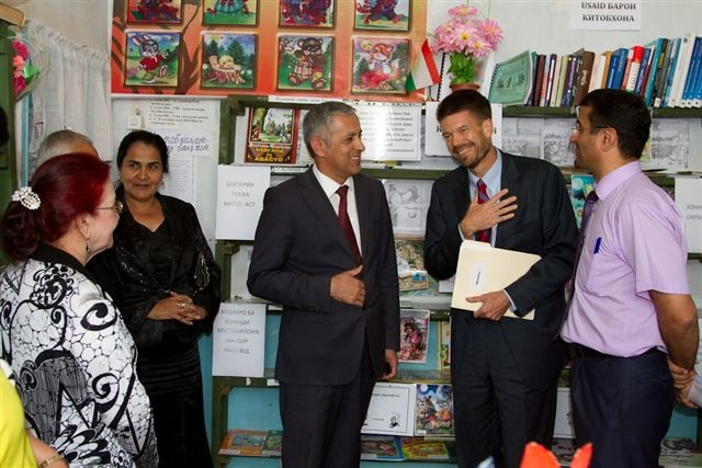 USAID celebrates International Literacy Day