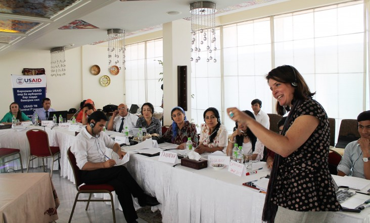 USAID and the National Center or Healthy Lifestyles Promotion Conduct Training for Journalists on Tuberculosis Reporting