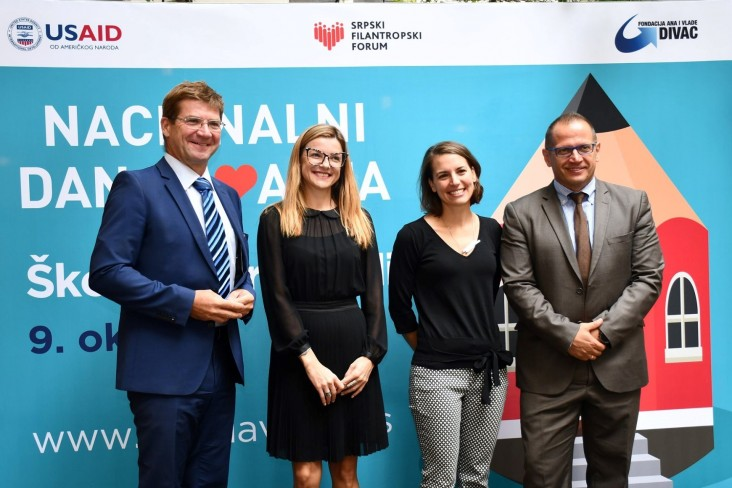 Serbia's Primary Schools and Students to Benefit from Second National Day of Giving