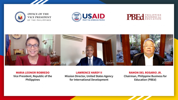 Vice President Robredo, USAID, PBEd Team Up to Provide Training to Unemployed and Out-of-School Youth