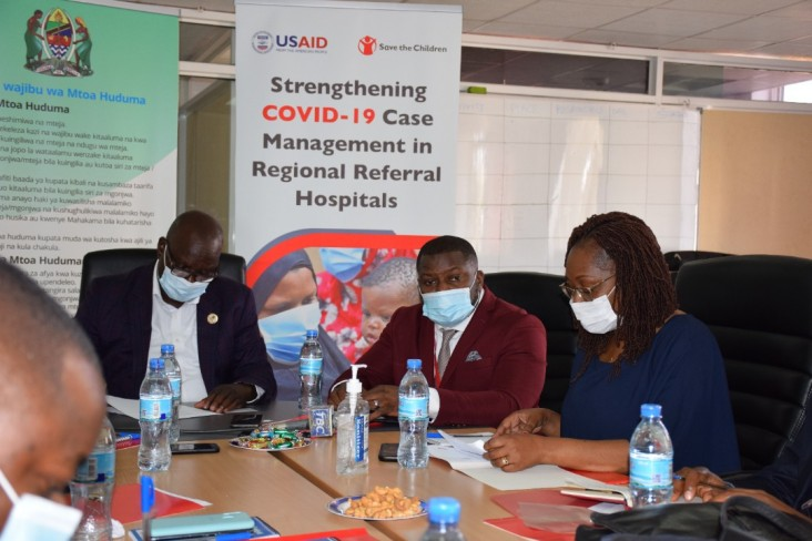 """""""The COVID-19 pandemic is among the most pressing challenges to the health, well-being, and economic security of all people. We must work together to address this pandemic with urgency."""" USAID Project Management Specialist Dr. Miriam Kombe"""
